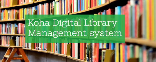 Koha Digital Library Management system & Online E-Content Library Integrated with Koha